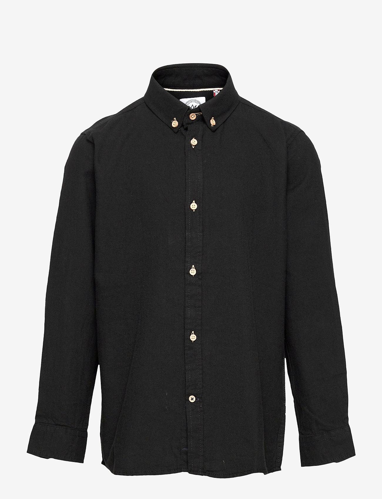 Kronstadt - Johan Diego - shirts - black - 0