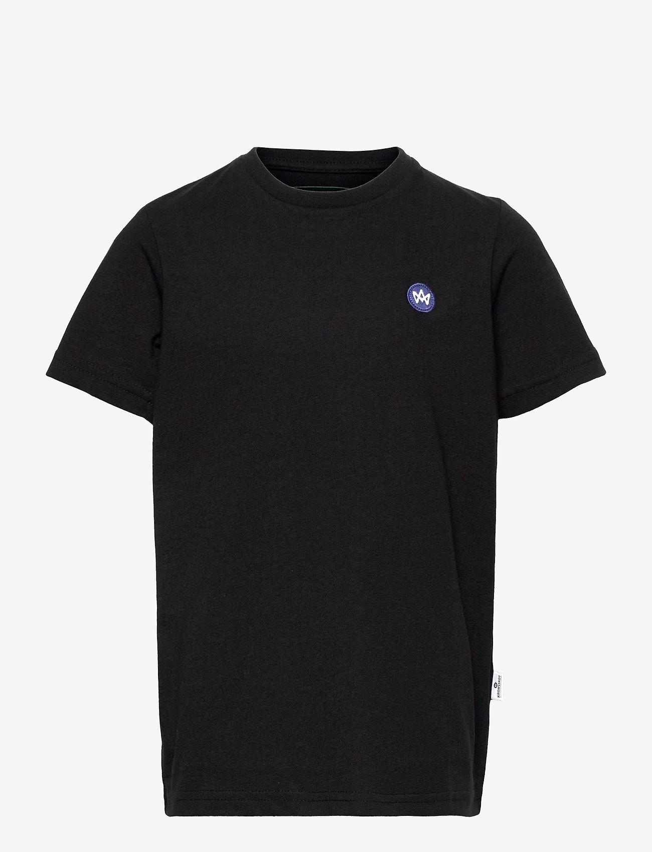 Kronstadt - Timmi Recycled - short-sleeved - black - 0