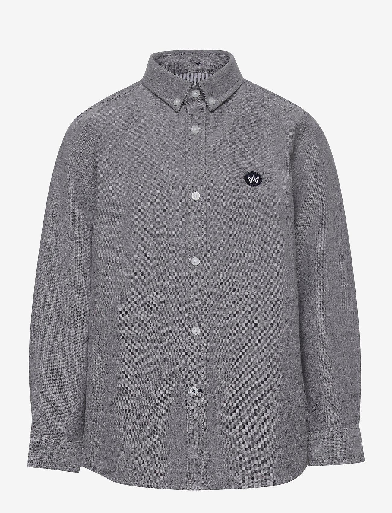 Kronstadt - Johan Oxford shirt - shirts - black - 0