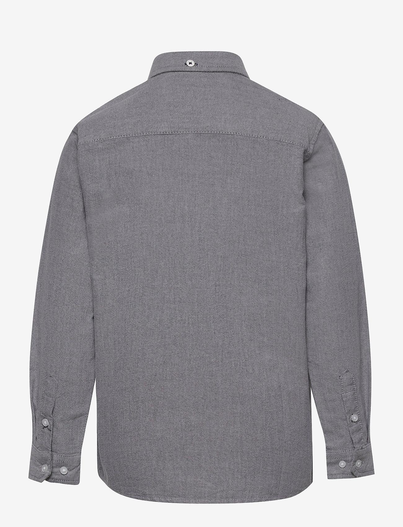 Kronstadt - Johan Oxford shirt - shirts - black - 1
