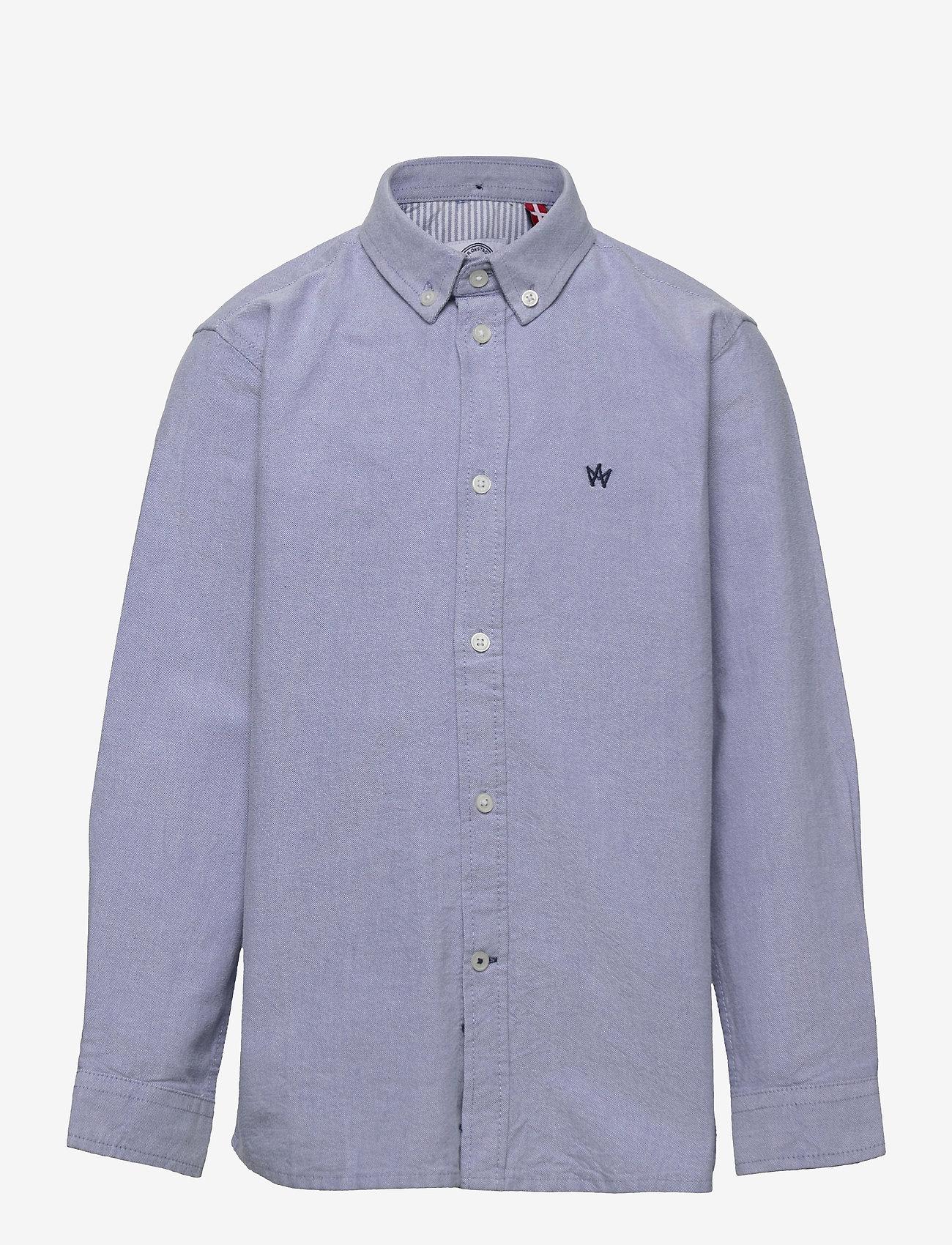 Kronstadt - Johan Oxford shirt - shirts - light blue - 0