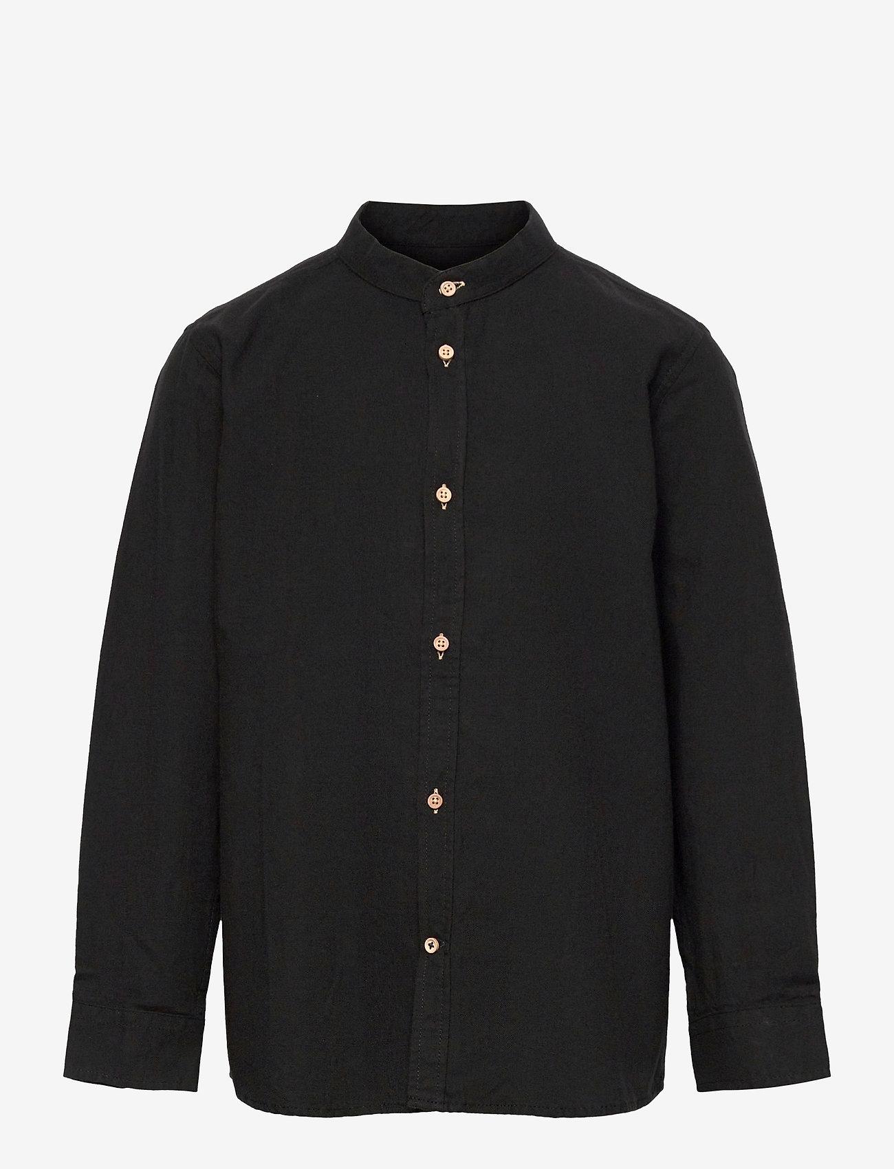 Kronstadt - Johan Henley Diego - shirts - black - 0