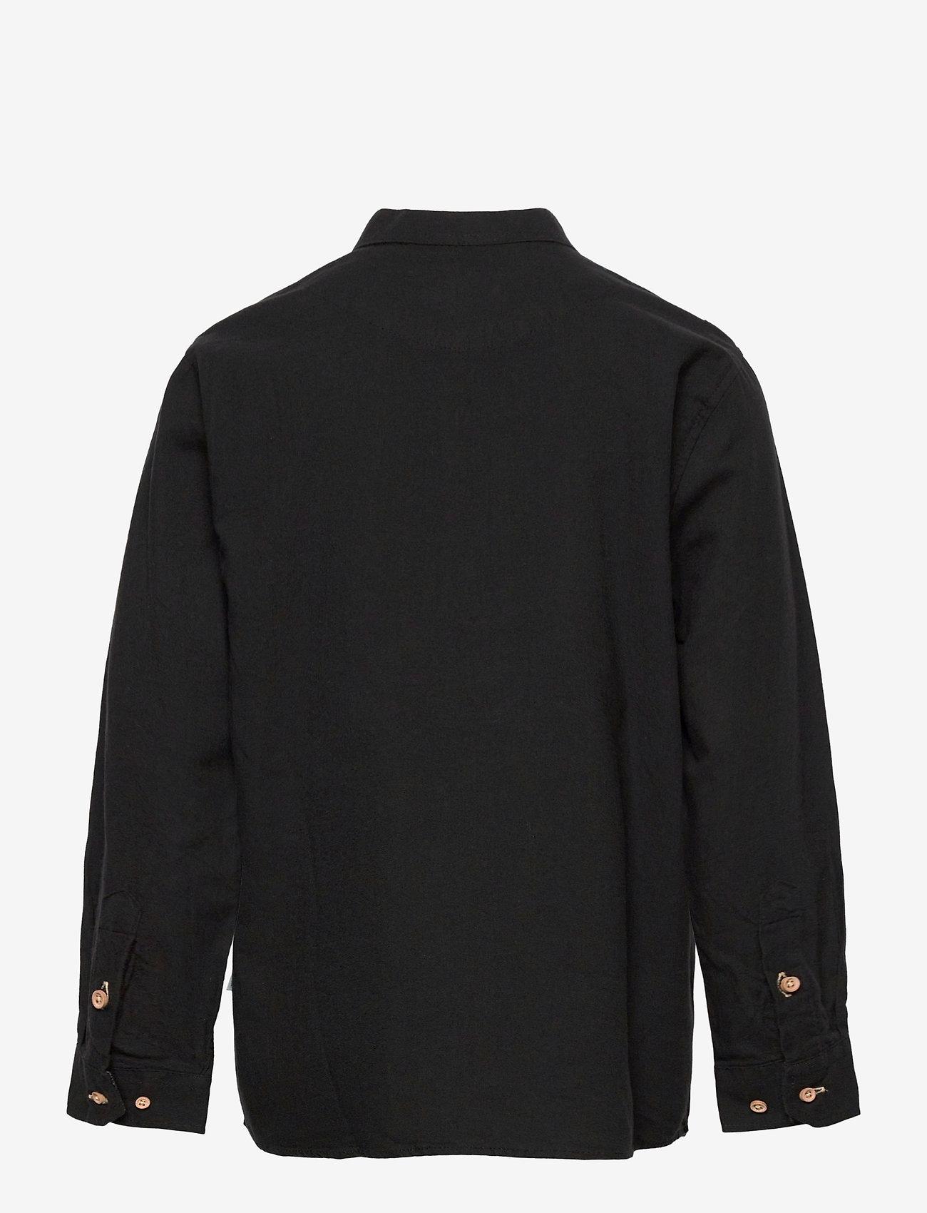 Kronstadt - Johan Henley Diego - shirts - black - 1