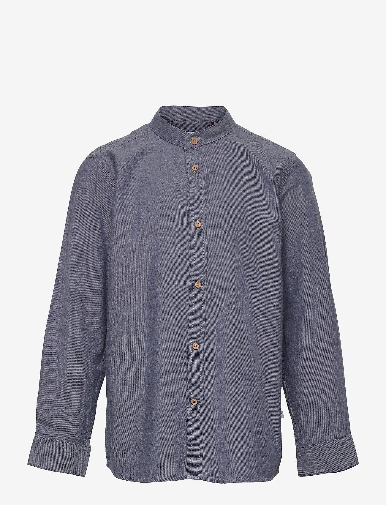 Kronstadt - Johan Henley Diego - shirts - light navy - 0
