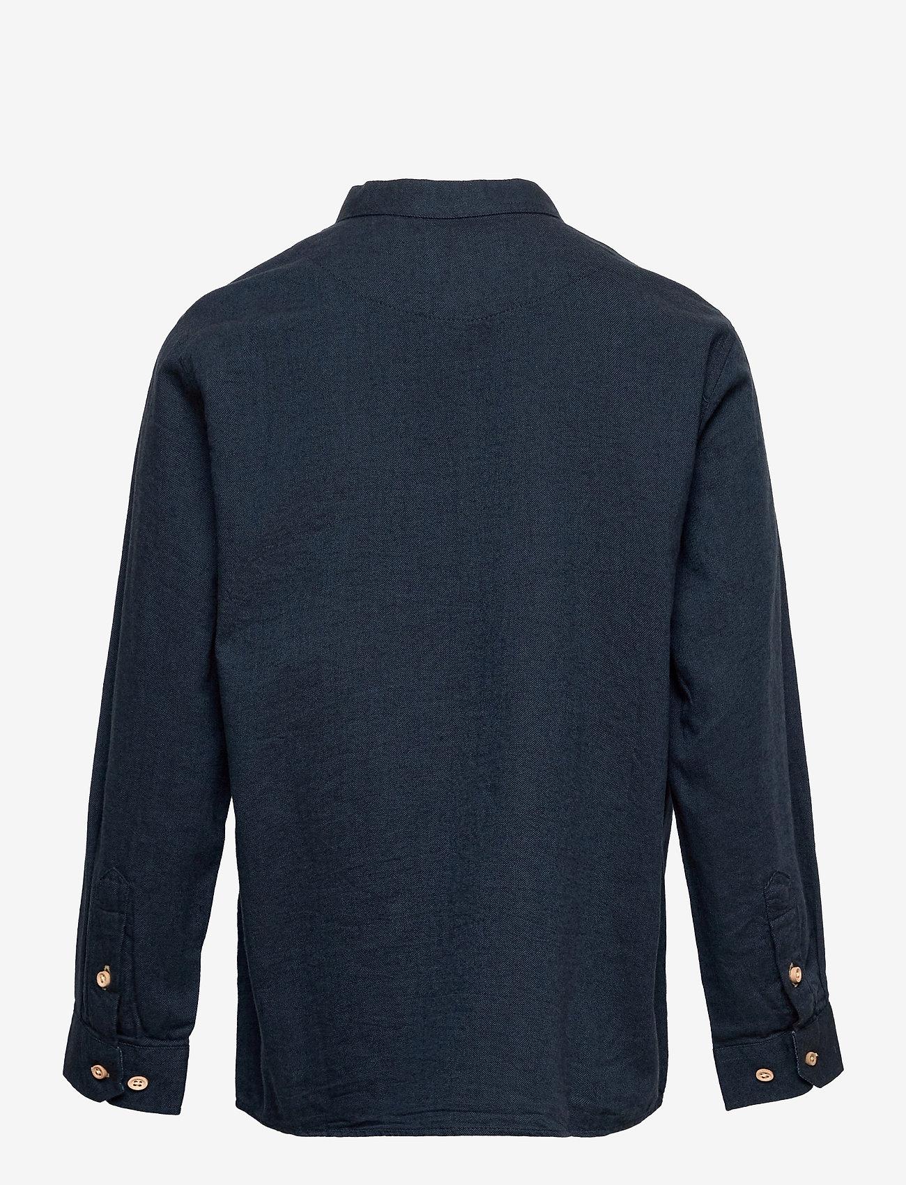 Kronstadt - Johan Henley Diego - shirts - navy - 1