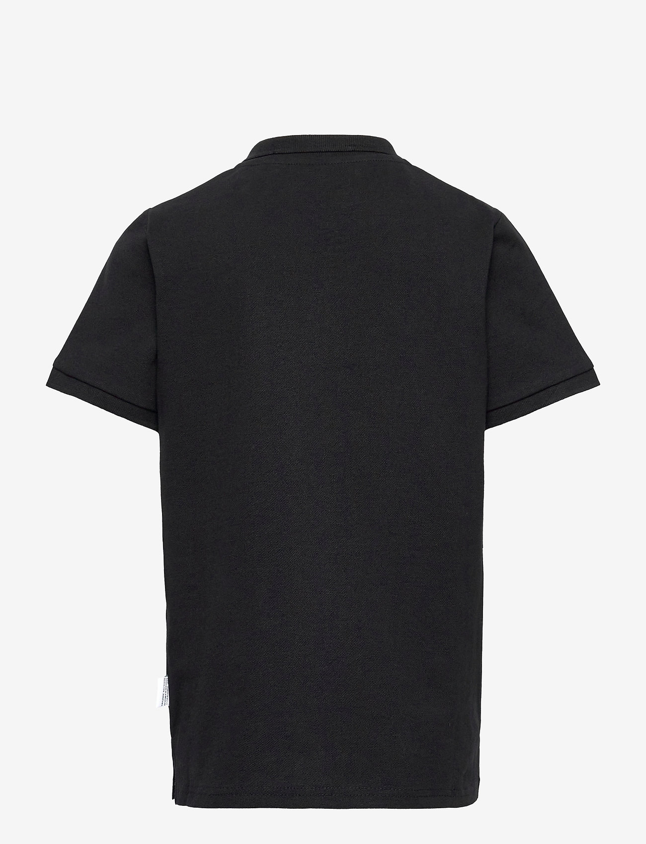 Kronstadt - Albert Polo Recycled - polo shirts - black - 1