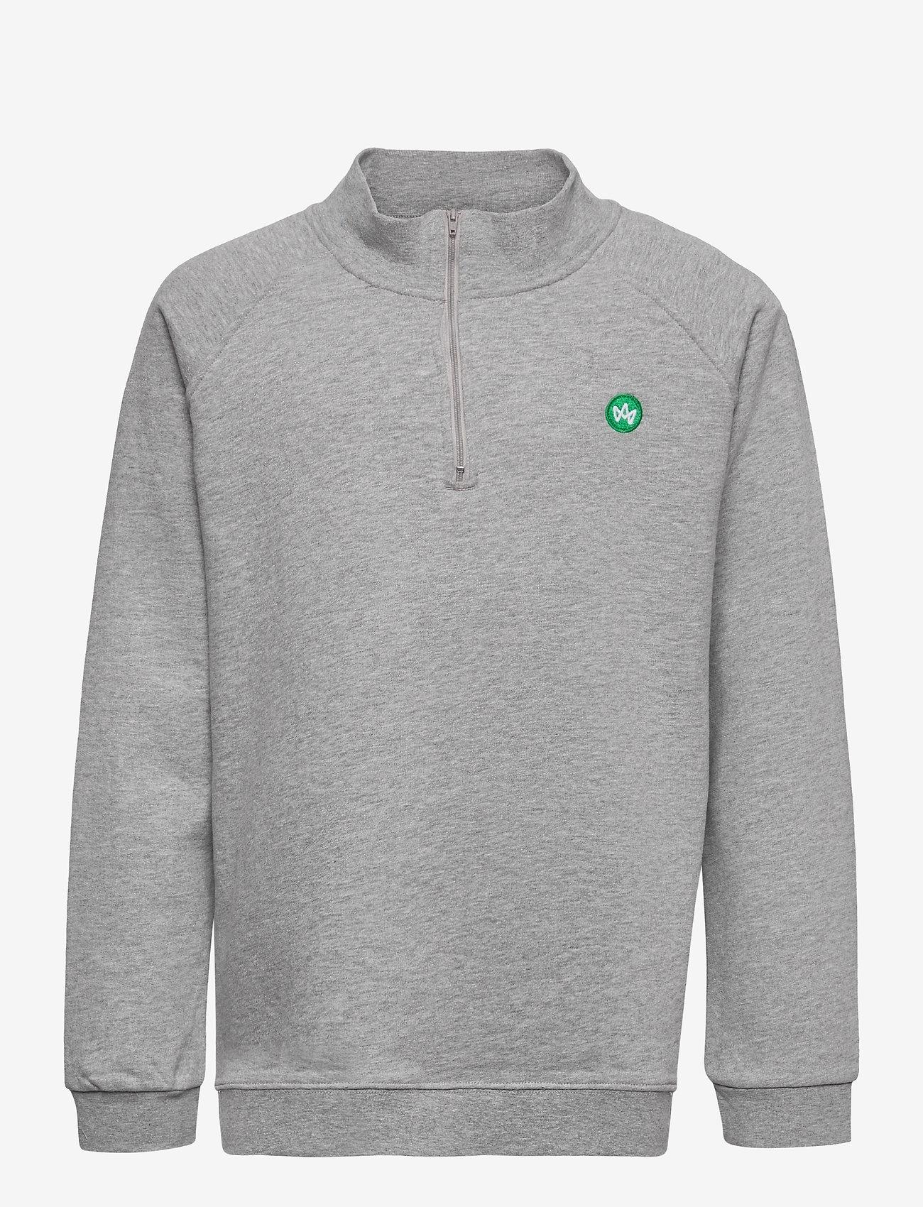 Kronstadt - Lars Half Zip Recycled - sweatshirts - twilight - 0