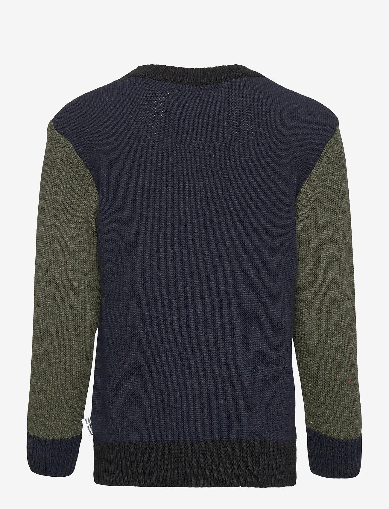 Kronstadt - Michael Crew Recycled - jumpers - navy/army - 1