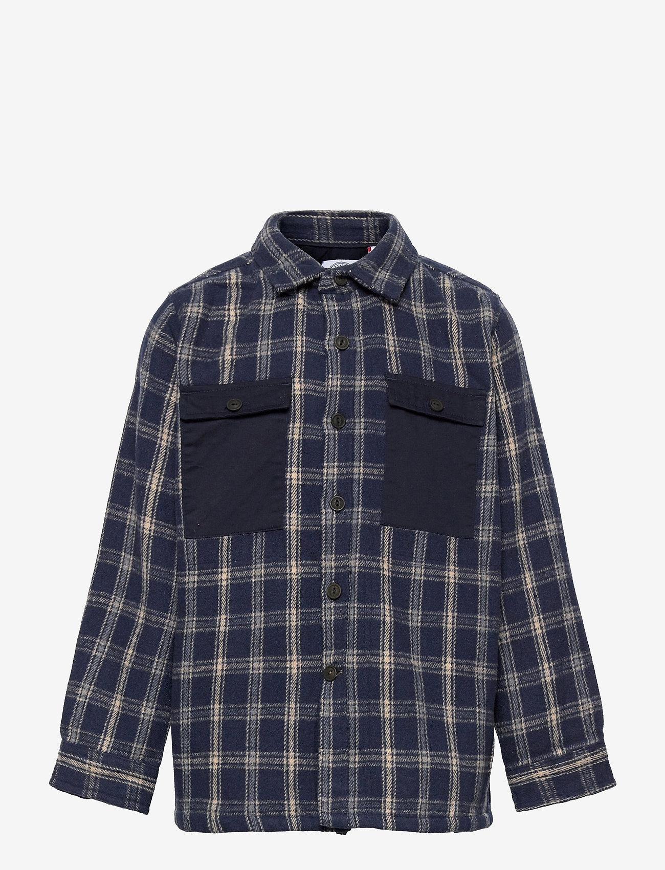 Kronstadt - Oliver Check - shirts - navy - 0