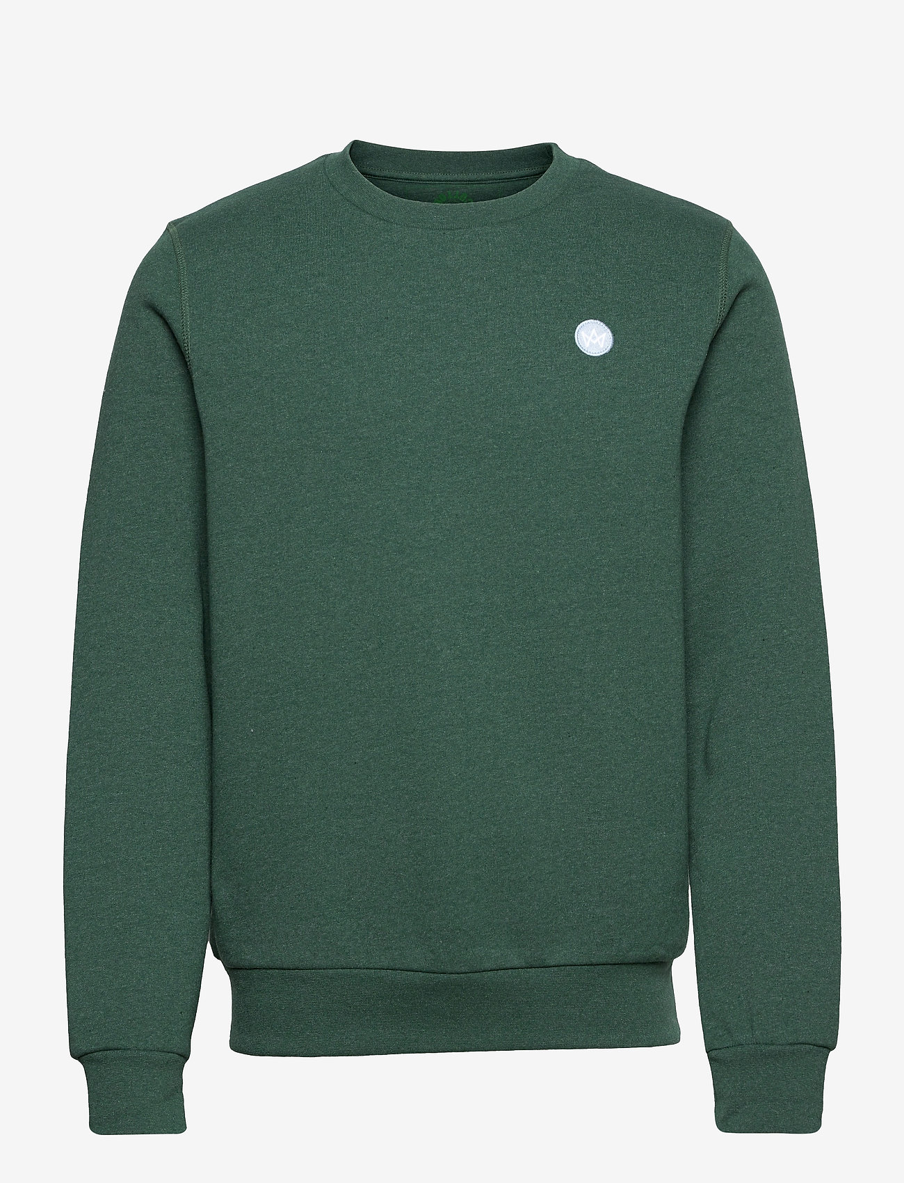 Kronstadt - Lars Recycled cotton sweat - sweats - olive - 0