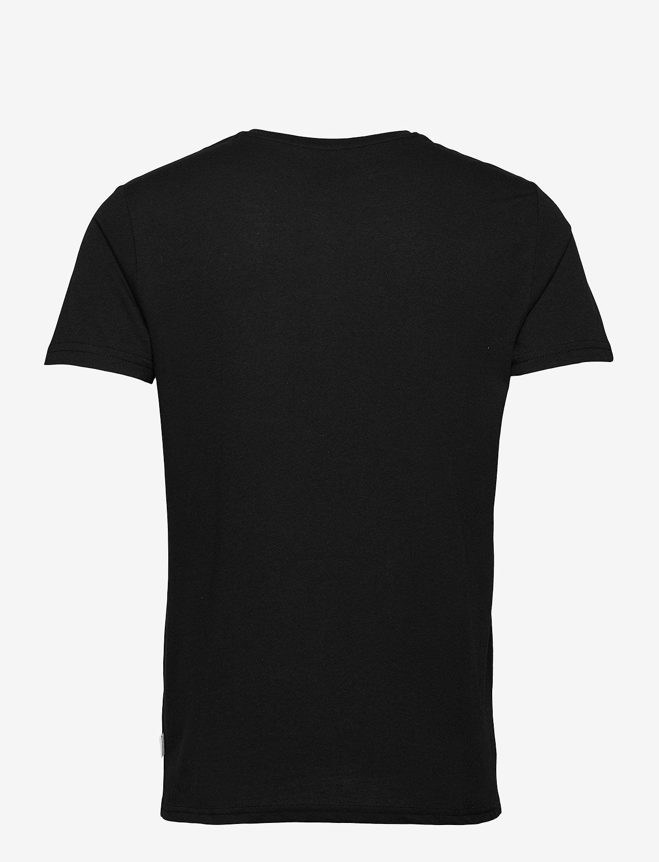 Kronstadt - Timmi Recycled cotton t-shirt - basic t-shirts - black - 1