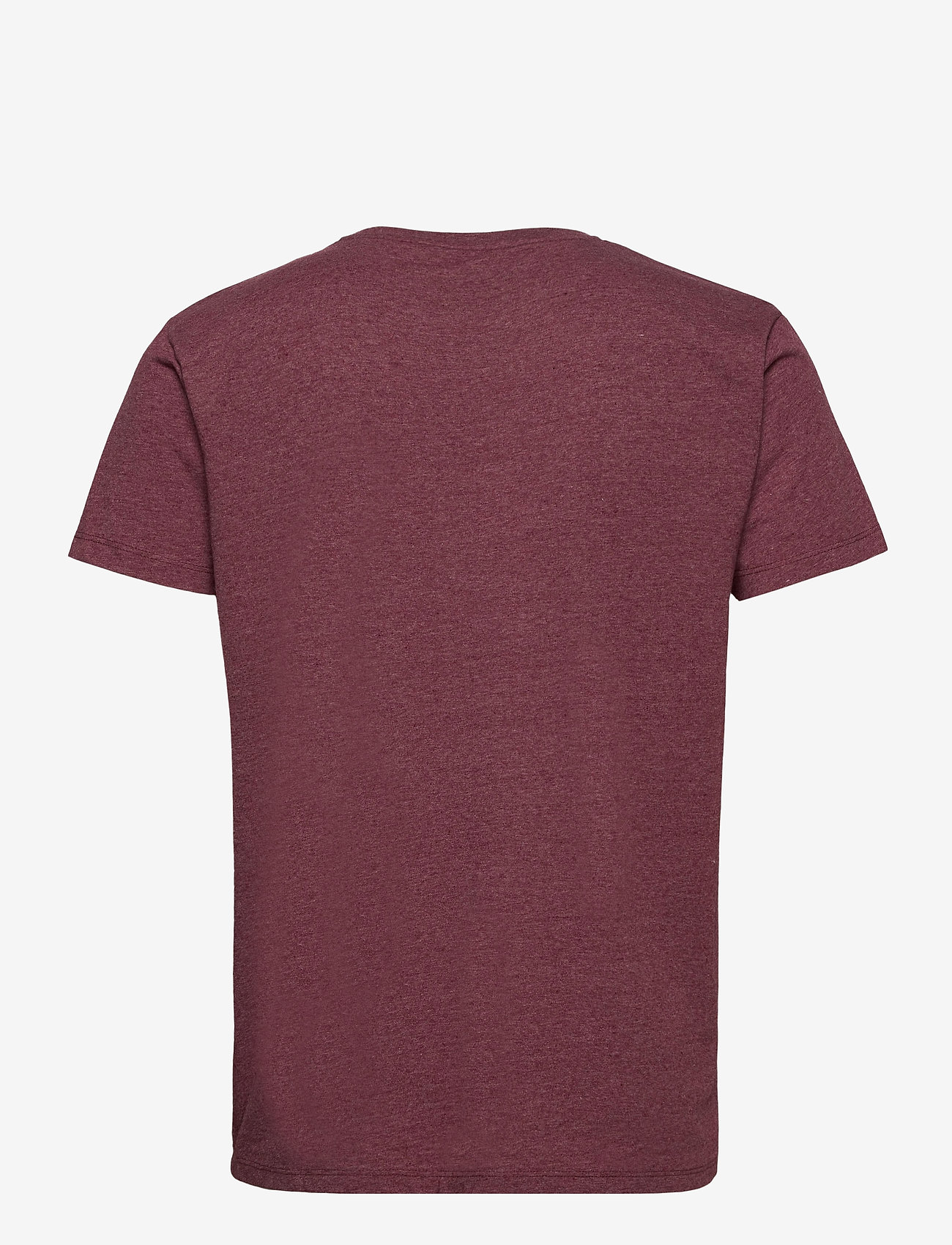 Kronstadt - Timmi Recycled cotton t-shirt - basic t-shirts - cherry - 1