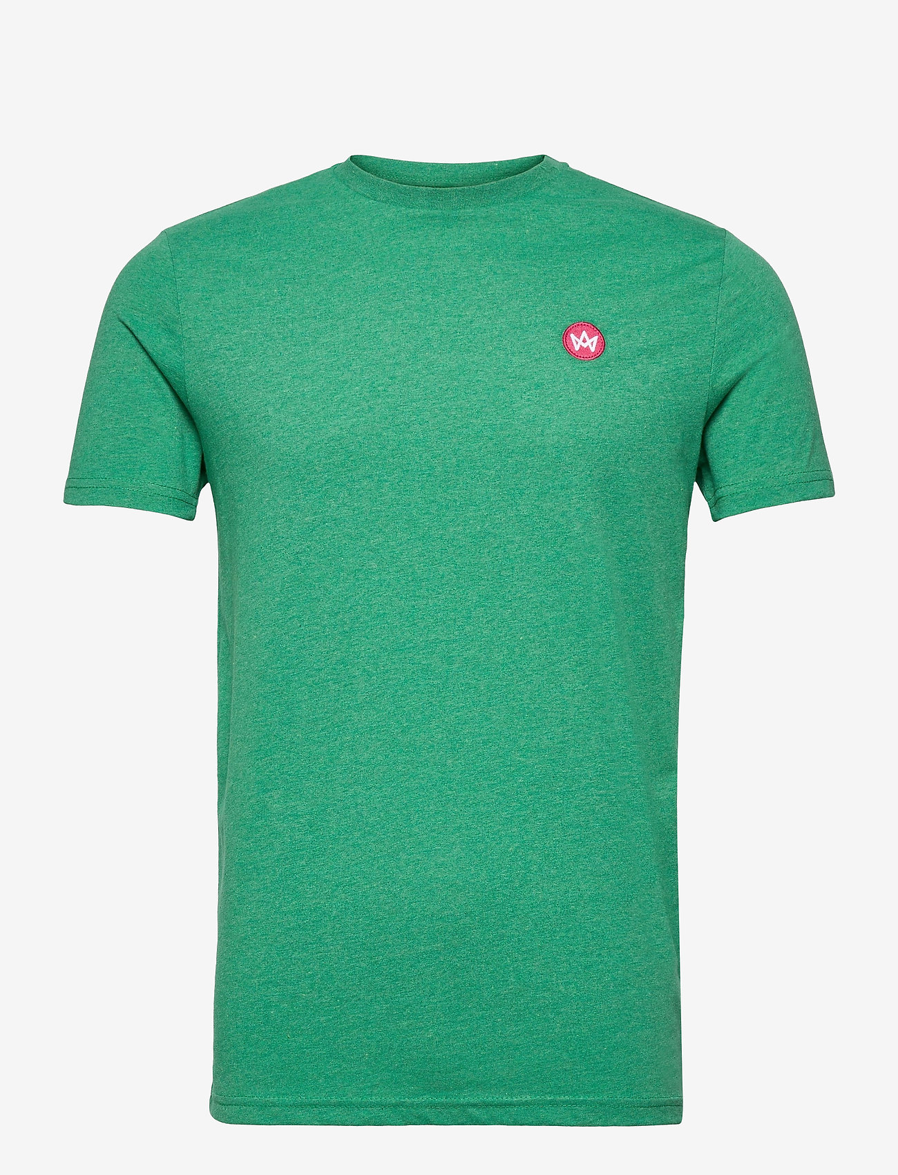 Kronstadt - Timmi Recycled cotton t-shirt - basic t-shirts - lime - 0