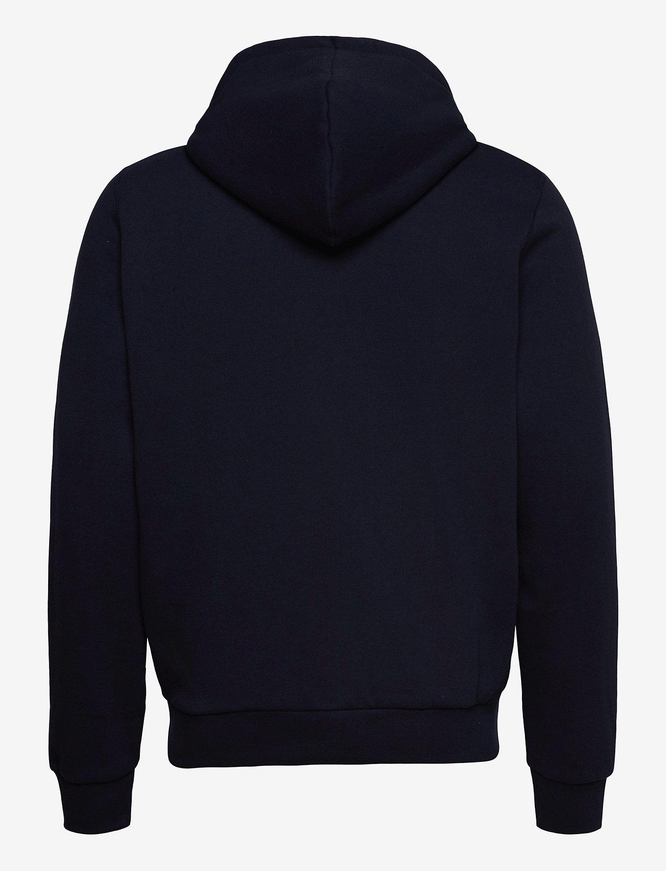 Kronstadt - Lars Recycled cotton hood - sweats à capuche - navy - 1