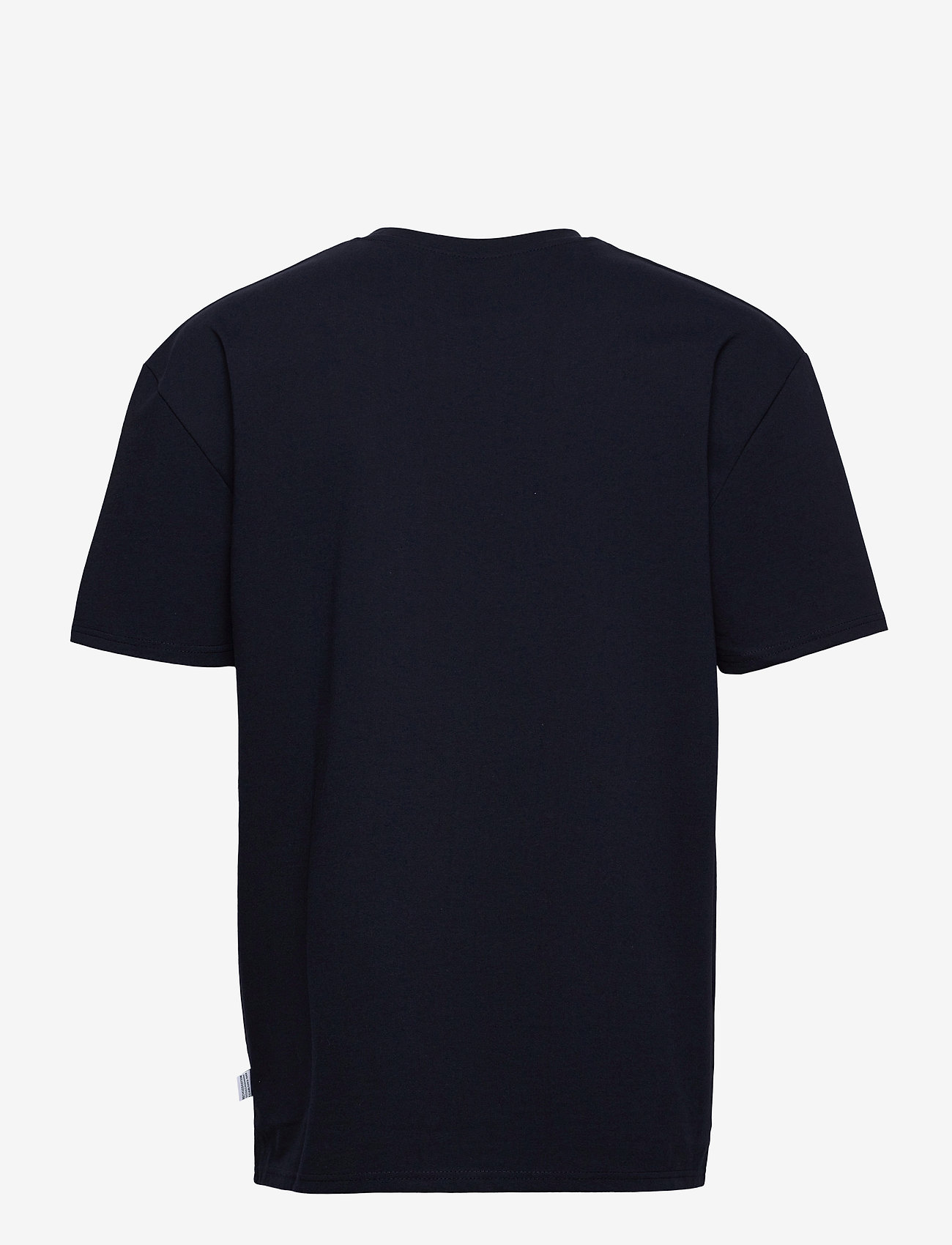 Kronstadt - Martin Recycled cotton boxfit t-shirt - basic t-shirts - navy - 1