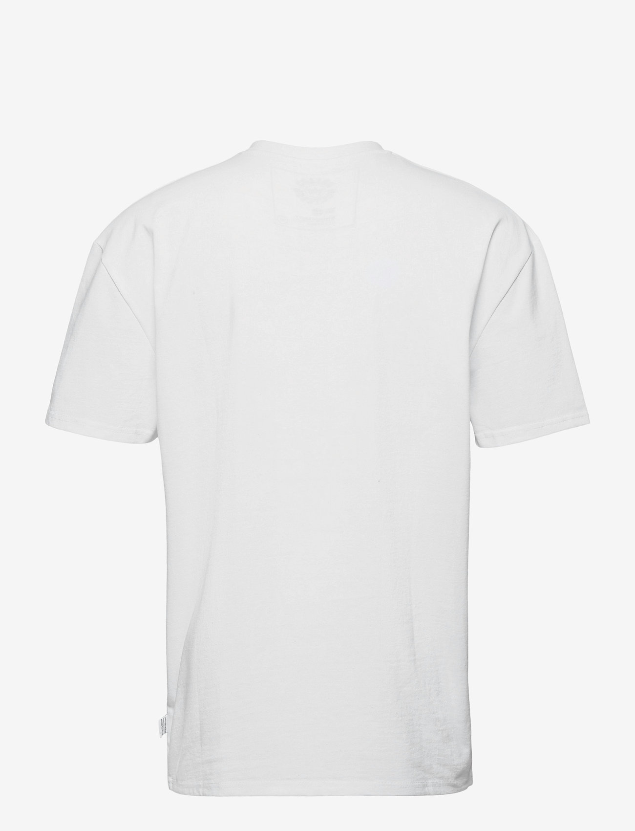 Kronstadt - Martin Recycled cotton boxfit t-shirt - t-shirts basiques - white - 1