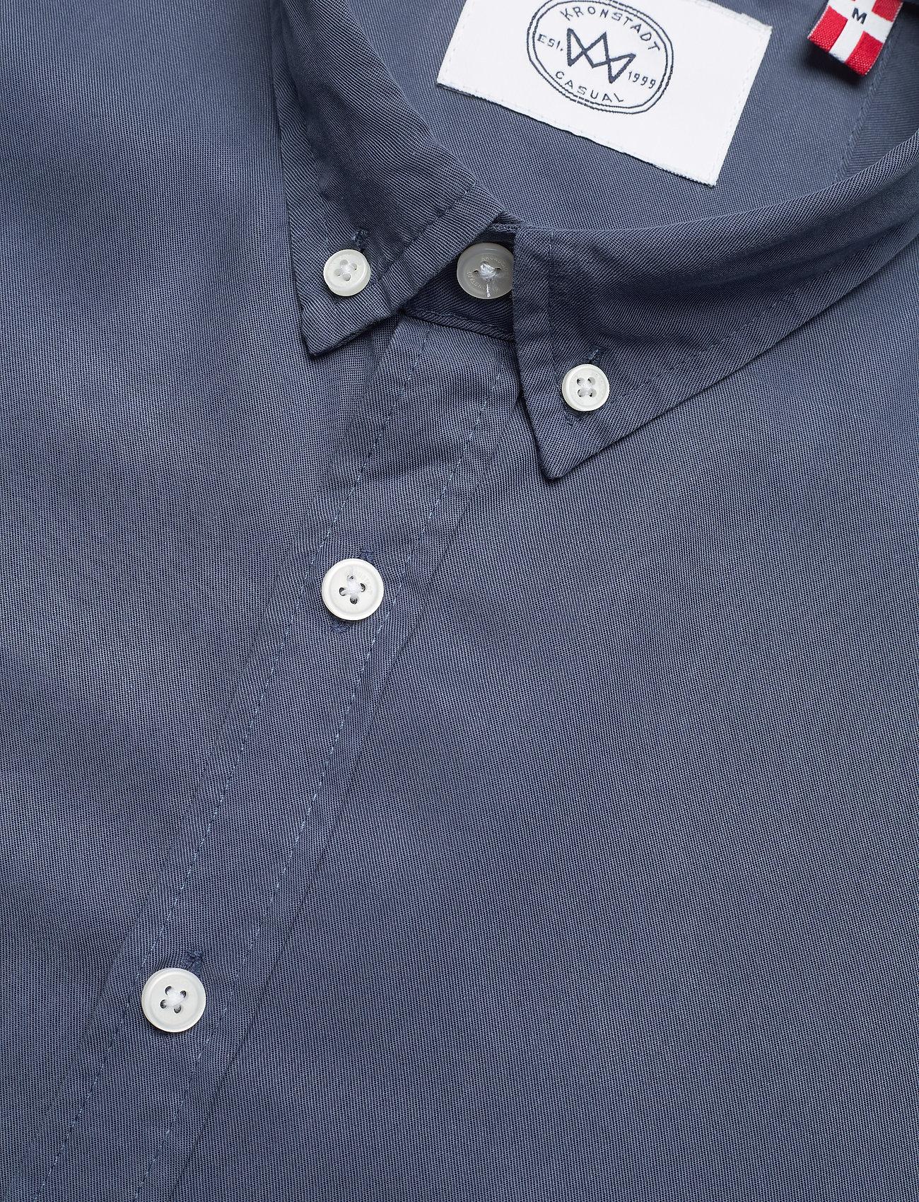 Kronstadt - Johan Tencel shirt - chemises de lin - blue - 3