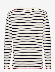 Kronstadt - Oscar Stripe - jumpers - off white/navy - 1