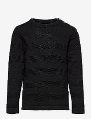 Kronstadt - Keld Plain - jumpers - black/cobalt - 0