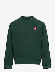 Kronstadt - Lars Crew Recycled - sweatshirts - khaki green - 0