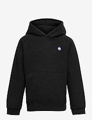 Kronstadt - Lars Hood Recycled - hoodies - black - 0