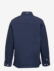 Kronstadt - Johan Oxford Washed - shirts - blue - 1