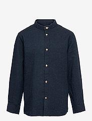 Kronstadt - Johan Henley Diego - shirts - navy - 0