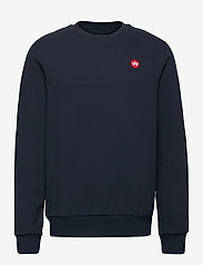 Lars Recycled cotton sweat - NAVY