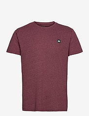 Timmi Recycled cotton t-shirt - CHERRY
