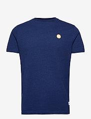 Kronstadt - Timmi Recycled cotton t-shirt - basic t-shirts - night blue - 0