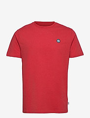 Timmi Recycled cotton t-shirt - ROSSO RED