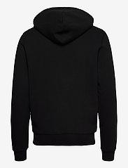 Kronstadt - Lars Recycled cotton hood - sweats à capuche - black - 1