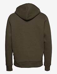 Kronstadt - Lars Recycled cotton hood - sweats à capuche - khaki green - 1