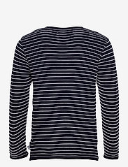 Kronstadt - Viking Recycled cotton knit - t-shirts à manches longues - navy - 1