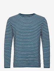Viking Recycled cotton knit - PINE BLUE