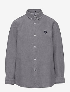 Johan Oxford shirt - chemises - black