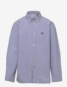 Johan Oxford shirt - chemises - light blue