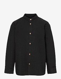 Johan Henley Diego - chemises - black