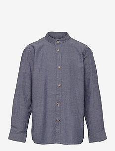 Johan Henley Diego - chemises - light navy