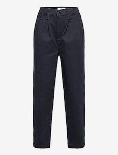 Mason - pantalons - navy