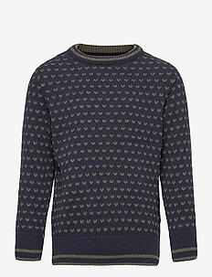 Alfie Recycled - habits tricotés - navy/army