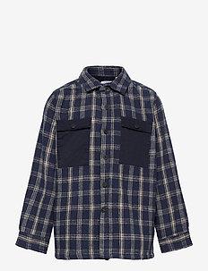 Oliver Check - shirts - navy