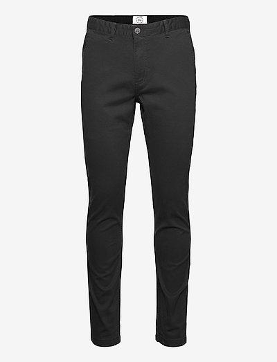 Daniel Stretch - pantalons chino - black
