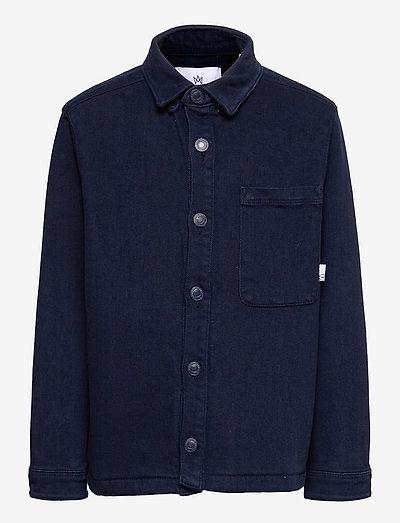 Ramon Heavy Twill overshirt - skjorter - navy