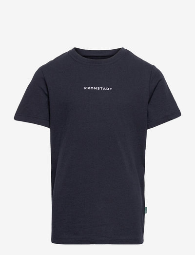 Timmi Recycled logo t-shirt - short-sleeved - navy