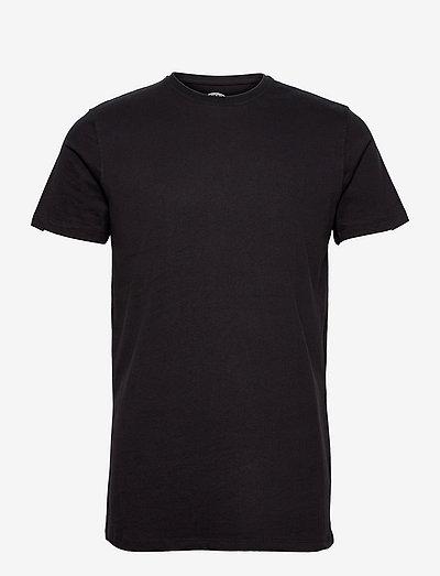 Basic Cotton tee - t-shirts basiques - black