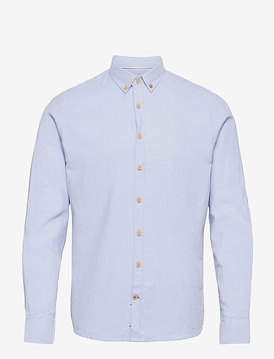Dean Diego Cotton shirt - chemises basiques - light blue