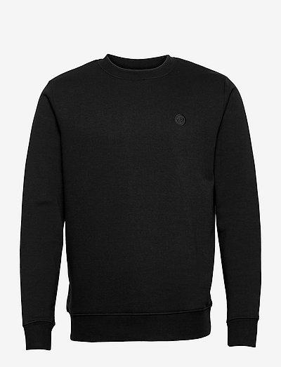 Lars Organic/Recycled crew sweat - sweats - black