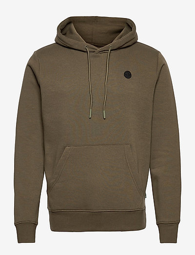 Lars Organic/Recycled hoodie - sweats à capuche - army