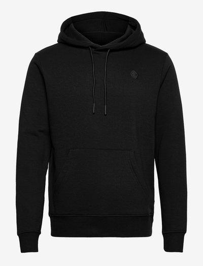 Lars Organic/Recycled hoodie - sweats à capuche - black